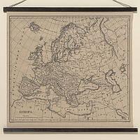Настінний декор Європа натуральний джут l78см 1005424