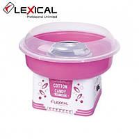 Аппарат для приготовления сладкой ваты LEXICAL LCC-3601 500Вт Розовый (RZ716)