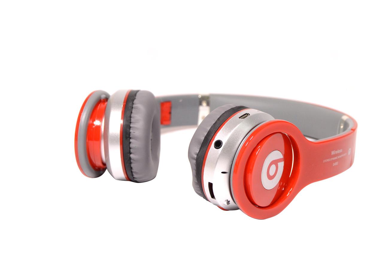 Наушники беспроводные Beats Solo by dr. Dre S450 Bluetooth (красные)