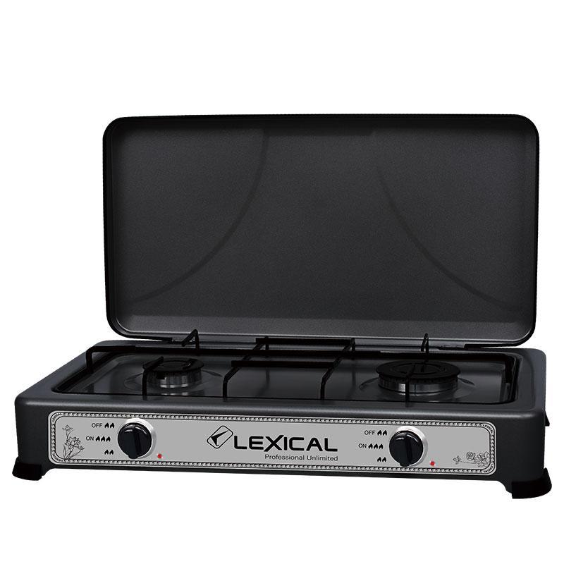 Плита газовая на 3 конфорки Lexical LGS-2813-2  (RZ752)