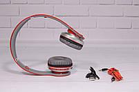 Наушники беспроводные Beats Solo by dr. Dre S450 Bluetooth (красные), фото 2