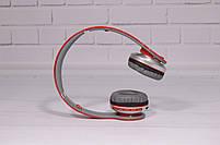 Наушники беспроводные Beats Solo by dr. Dre S450 Bluetooth (красные), фото 4