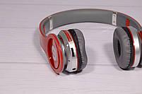 Наушники беспроводные Beats Solo by dr. Dre S450 Bluetooth (красные), фото 7