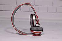 Наушники беспроводные Beats Solo by dr. Dre S450 Bluetooth (красные), фото 9