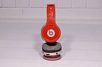 Наушники беспроводные Beats Solo by dr. Dre S450 Bluetooth (красные), фото 8