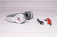 Наушники беспроводные Beats Solo by dr. Dre S450 Bluetooth (белые), фото 3
