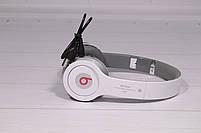 Наушники беспроводные Beats Solo by dr. Dre S450 Bluetooth (белые), фото 4