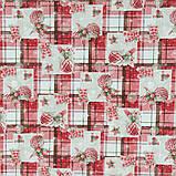 Декоративная новогодняя ткань Рождественский стол, фото 3