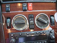 Кольца в щиток приборов Mercedes C-class W202