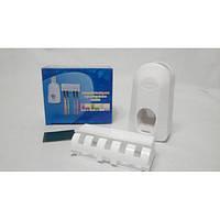 Автоматический дозатор зубной пасты и держатель щеток Dentifrice  (RZ790)