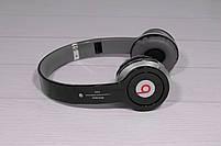Наушники беспроводные Beats Solo by dr. Dre S450 Bluetooth (чёрные), фото 8