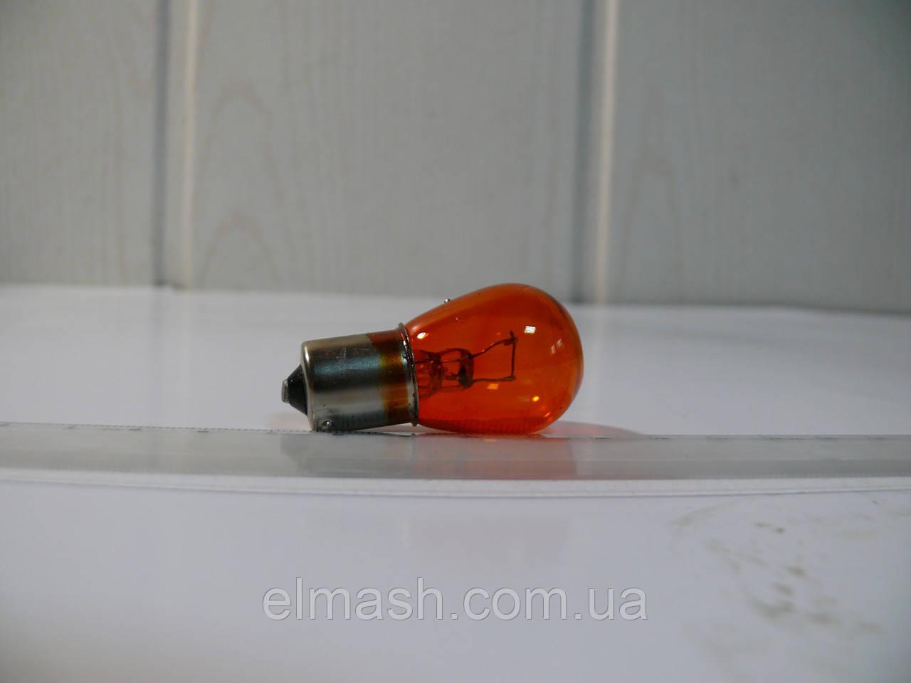 Лампа 24V PY21W 21W BAU15s AMBER HEAVY DUTY (пр-во Narva)