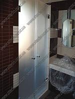 Стеклянные двери для душевых кабин (двери из стекла для душа) под заказ Киев