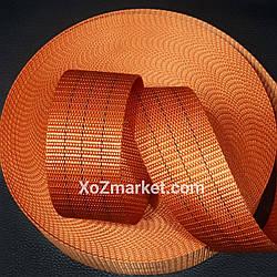 Лента полиэстеровая 3т х 50м х 50мм ➡️ Ременная стропа буксировочная ➡️ Лента для стяжных ремней