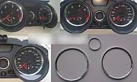 Кольца в щиток приборов Renault Megane