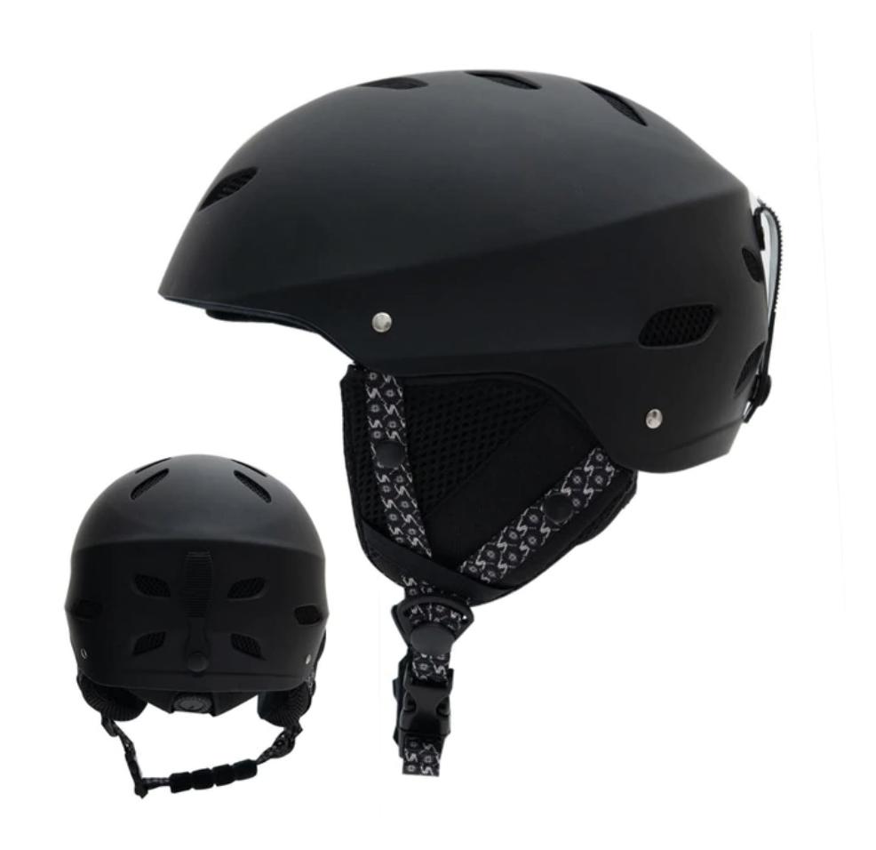 Горнолыжный / сноубордический шлем модель 2021 VECTOR  (ЧЕРНЫЙ) (L)