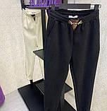 Спортивные штаны женские белые, чёрные, 42-44, 44-46, фото 2