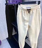 Спортивные штаны женские белые, чёрные, 42-44, 44-46, фото 3