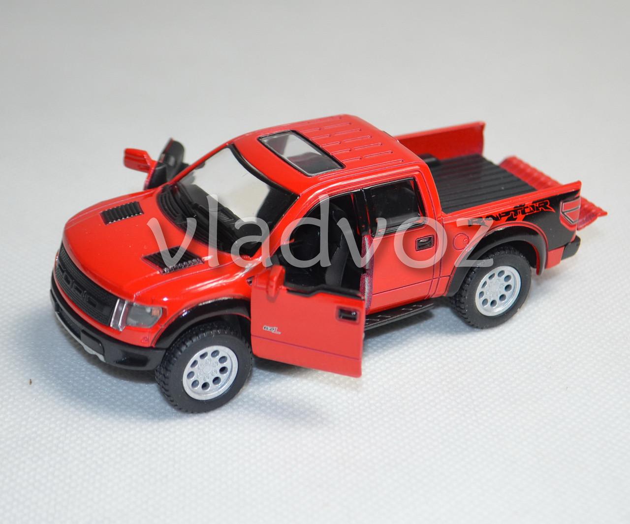 Машинка модель из металла 1:32 ford красная