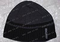 Вязанная шапка Ride Теплая не продуваемая зимняя шапка Мужская зимняя шапка