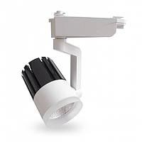 Светодиодный трековый светильник Feron AL119 COB 20W 4000K 1700Lm  белый, фото 1