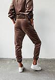 Костюм спортивный женский велюровый, фото 3