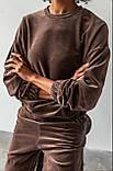 Костюм спортивный женский велюровый, фото 5