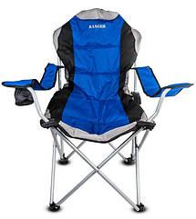 Кресло — шезлонг складное Ranger FC 750-052 Blue (Арт. RA 2233)