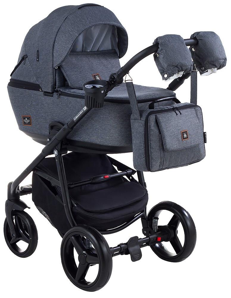 Детская универсальная коляска 2 в 1 Adamex Barcelona BR51
