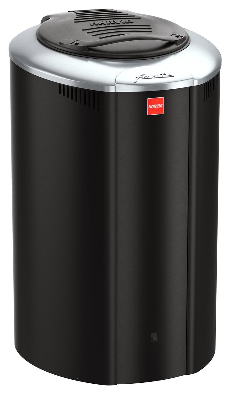 Электрокаменка Harvia Forte AF4 Black 4 кВт вес камней 100 кг парная 8 м.куб с пультом