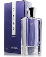 Мужская парфюмерная вода  Pure Violet 100ml. Fragrance World.100ml.
