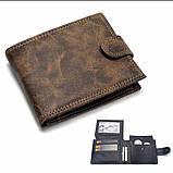 Компактный мужской кошелек, фото 8