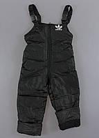 {есть:86,92,98} Комбинезон зимний для мальчиков,  Артикул: YL4123-чёрный [86], фото 1