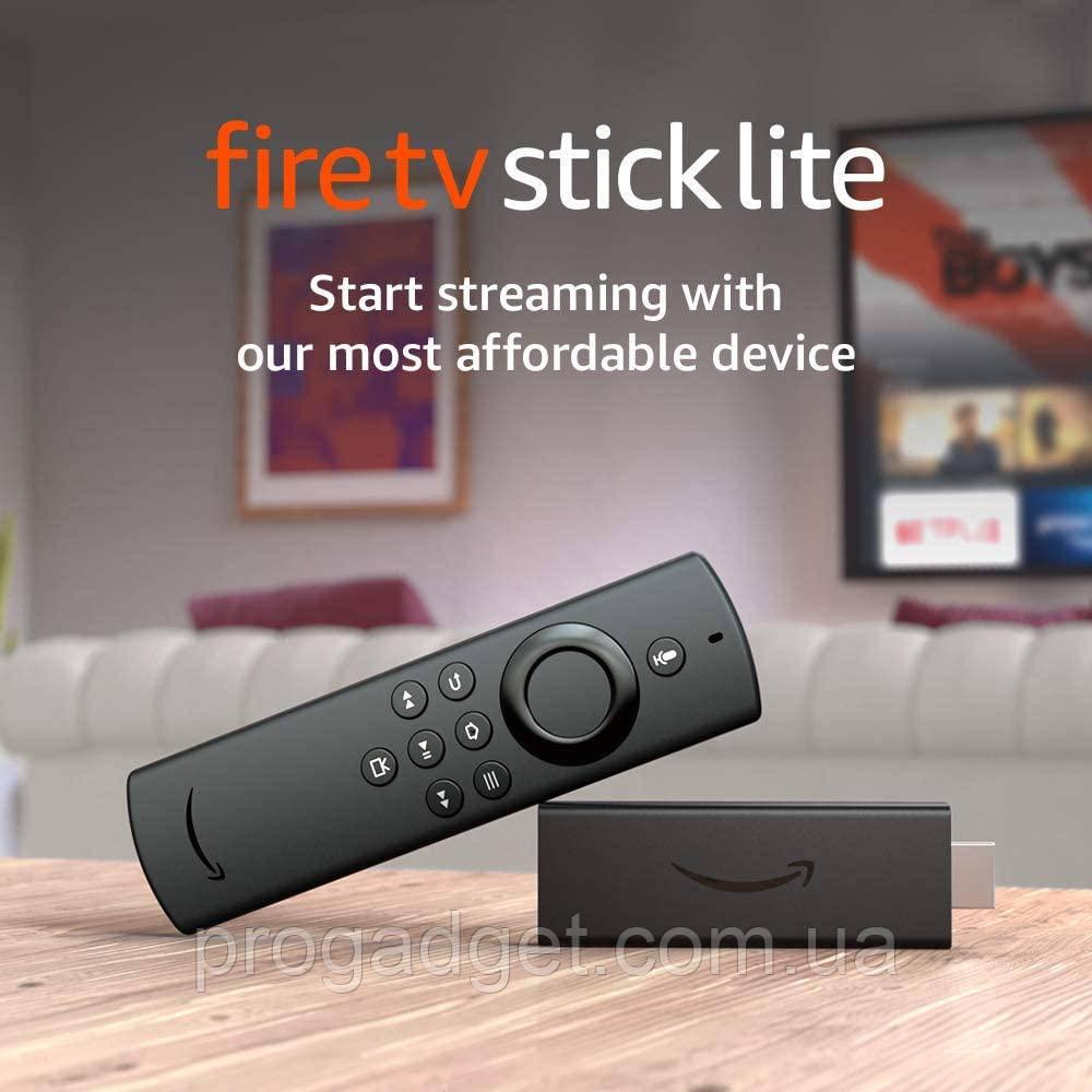 Медиа плеер Amazon Fire TV Stick HD  Lite с голосовым помощникам Alexa медиаплеер HD  версия 2020