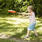 Игрушка - Фрисби (Цвет Папайя-Сливовый)  Battat BX1356Z, фото 2