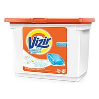 Капсулы  для стирки  Vizir Original Fresh 15 шт