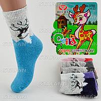 Детские шерстяные носки с махрой внутри Vesna 3793 16-22. В упаковке 12 пар