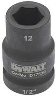 "Головка торцевая ударная DeWalt 1/2"", 12 мм. (DT7530)"