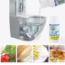 Чистящее средство для труб и раковин - мощный очиститель мойки и слива WILD Tornado Sink & Drain Cleaner, фото 3