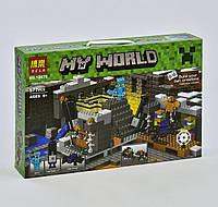 Конструктор Майнкрафт Bela My World 10470 Портал в край, реплика Lego Minecraft, 571 деталь, фото 1