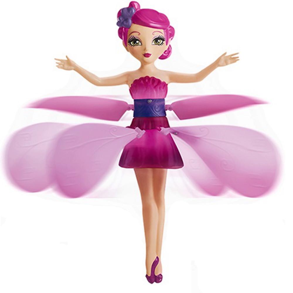 Кукла Фея Летающая Flying Fairy Летит за рукой, волшебство в детских руках