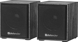 Акустика Defender 2.0 SPK 230V USB 4W Black (65223)