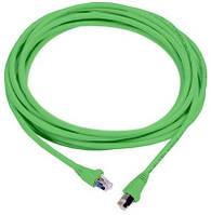 MOLEX F/UTP PowerCat 5e, RJ45, 568A/B, LS0H, 1m, Green
