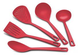 Набір кухонних аксесуарів Товарtramontina Utilita 5 предметів, червоний