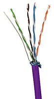 Кабель Molex F/UTP 4 Pair PowerCat 5e (Cat5e)/LSZH/305m Box Violet