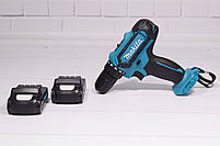 Аккумуляторный шуруповерт MAKITA DF331D и набор инструментов в кейсе (Шуруповерт Макита), фото 5