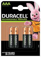 Акумулятор Duracell HR03 (AAA) 900mAh уп. 4шт.