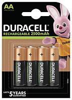 Акумулятор Duracell HR6 (AA) 2500 mAh уп. 4шт.
