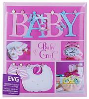 Фотоальбом EVG 10x15x56 BKM4656 Baby collage Pink