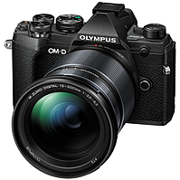 Цифрова системна фотокамера Olympus E-M5 mark III 12-200 Kit Black/Black